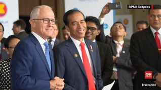 Jokowi: Perjanjian ASEAN-Australia Jadi Lokomotif Dagang