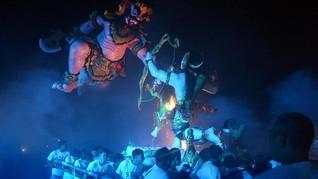 FOTO: Festival Ogoh-ogoh Nusantara Sambut Hari Raya Nyepi