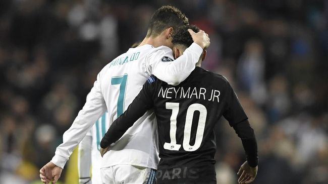 Viral Video Ronaldo vs Neymar di Ring Tinju
