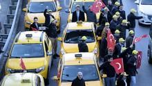 Pengemudi Taksi Istanbul Bawa Uber ke Meja Hijau