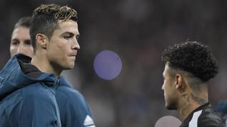Beda Sikap Ronaldo dan Neymar Soal Israel