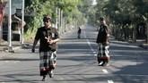 Pengamanan dilakukan untuk menjamin kelancaran umat Hindu yang menjalani