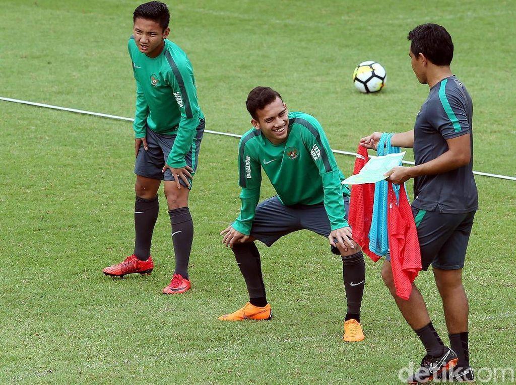 Laga uji coba ini sebagai salah satu persiapan menuju Asian Games Jakarta-Palembang.