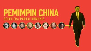 INFOGRAFIS: Pemimpin China di Era Partai Komunis