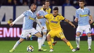 Juventus Ditahan Imbang SPAL 0-0