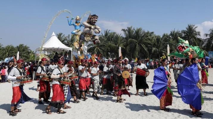 festival ogoh ogoh ancol (Muhammad Sabki)