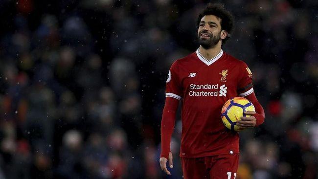 Daftar Top Skor Liga Inggris: Salah Masih di Puncak