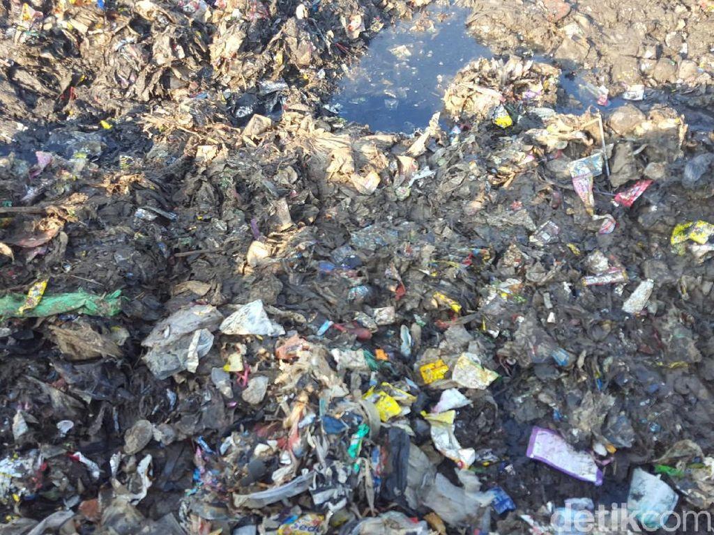 Sampah di lokasi itu didominasi sampah rumah tangga (Foto: Zunita Amalia Putri/detikcom)
