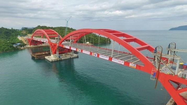 Jembatan Holtekamp ditargetkan bisa digunakan tahun ini.