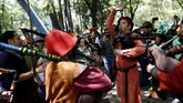 Seluruh dunia merayakan St. Patrick's Day, termasuk di Meksiko.(REUTERS/Edgard Garrido)