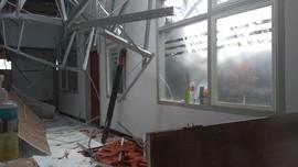 Atap Ruang Syaraf RSAL Surabaya Ambruk, 8 Orang Jadi Korban