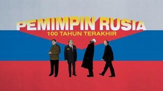 INFOGRAFIS: Putin Pemimpin Rusia Terlama Setelah Stalin