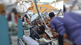 Atap Ruang Syaraf RSAL Surabaya Baru Direnovasi 3 Bulan Lalu