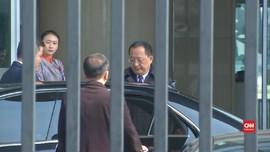 VIDEO: Menteri Luar Negeri Korea Utara Tiba di Beijing