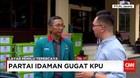 Live Partai Idaman Gugat KPU