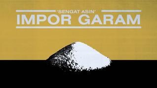 'Sengat Asin' Impor Garam