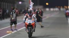 FOTO: Duel Sengit Dovizioso vs Marquez di MotoGP Qatar