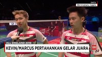 VIDEO: Kevin/Marcus Juara All England 2018
