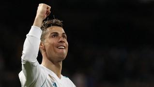 Ronaldo Cetak Empat Gol, Madrid Kalahkan Girona 6-3