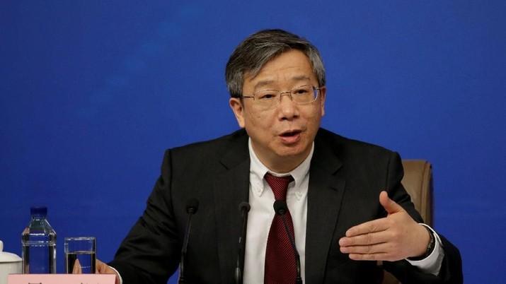 Yi Gang ditunjuk sebagai calon tunggal gubernur bank sentral China, PBOC.