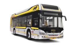 Bus Hibrid Diesel Listrik Pertama Digunakan di India