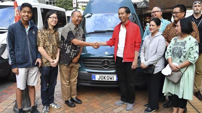 Ketika Jokowi Bertemu 'Jokowi' di Selandia Baru