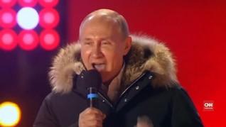 VIDEO: Putin Kembali Pimpin Rusia Enam Tahun ke Depan