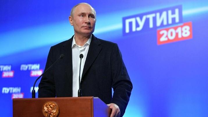 Putin: Suriah Diserang Lagi Dunia Bisa Kacau
