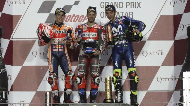 Rossi Tahu Marquez Tolak Dovizioso ke Honda