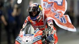 Dovizioso Puas Patahkan Rapor Buruk di MotoGP Qatar