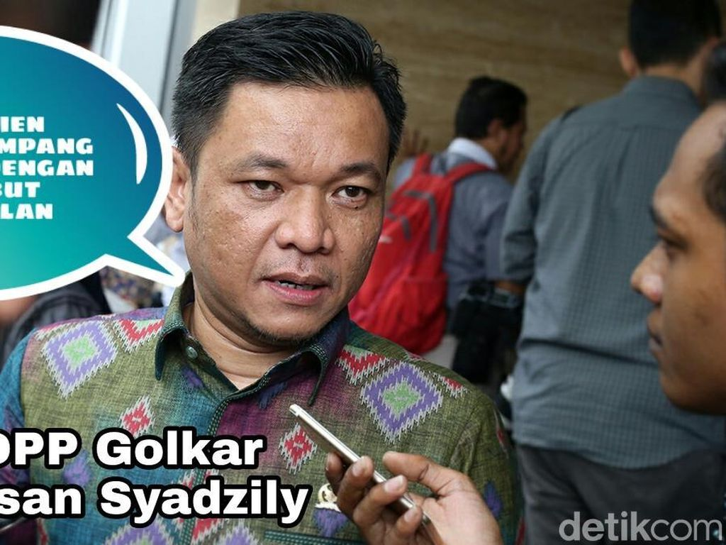 Wasekjen Partai Golkar Ace Hasan Syadzily meminta Amien tak gampang melemparkan tudingan seperti itu.