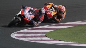 Dovizioso Takut Dengan Kecepatan Marquez