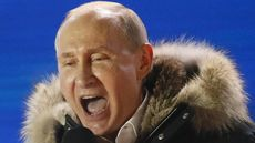 FOTO: Perayaan Kemenangan Putin dalam Pilpres Rusia