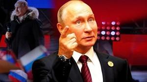 Tahta Rusia buat Putin