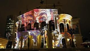 FOTO: Kilau Seni Cahaya di Luminale Jerman
