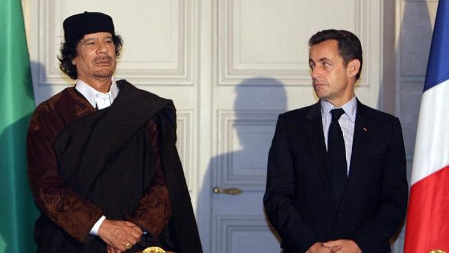 Dana Kampanye dari Libya, Eks-Presiden Perancis Sarkozy Dibui