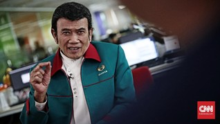 Rhoma Irama Buat Lagu 'Padi', Spesial untuk Prabowo-Sandi
