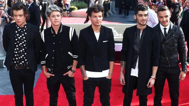 Vakum, Video Musik One Direction Raih Rekor 1 Miliar Klik