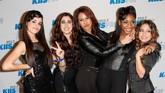 Fifth Harmony yang terdiri dari Camila Cabello, Lauren Jauregui, Dinah Jane, Normani, dan Ally Broke terbentuk pada acara 'X Factor' Amerika Serikat pada 2012.(Imeh Akpanudosen/Getty Images/AFP)