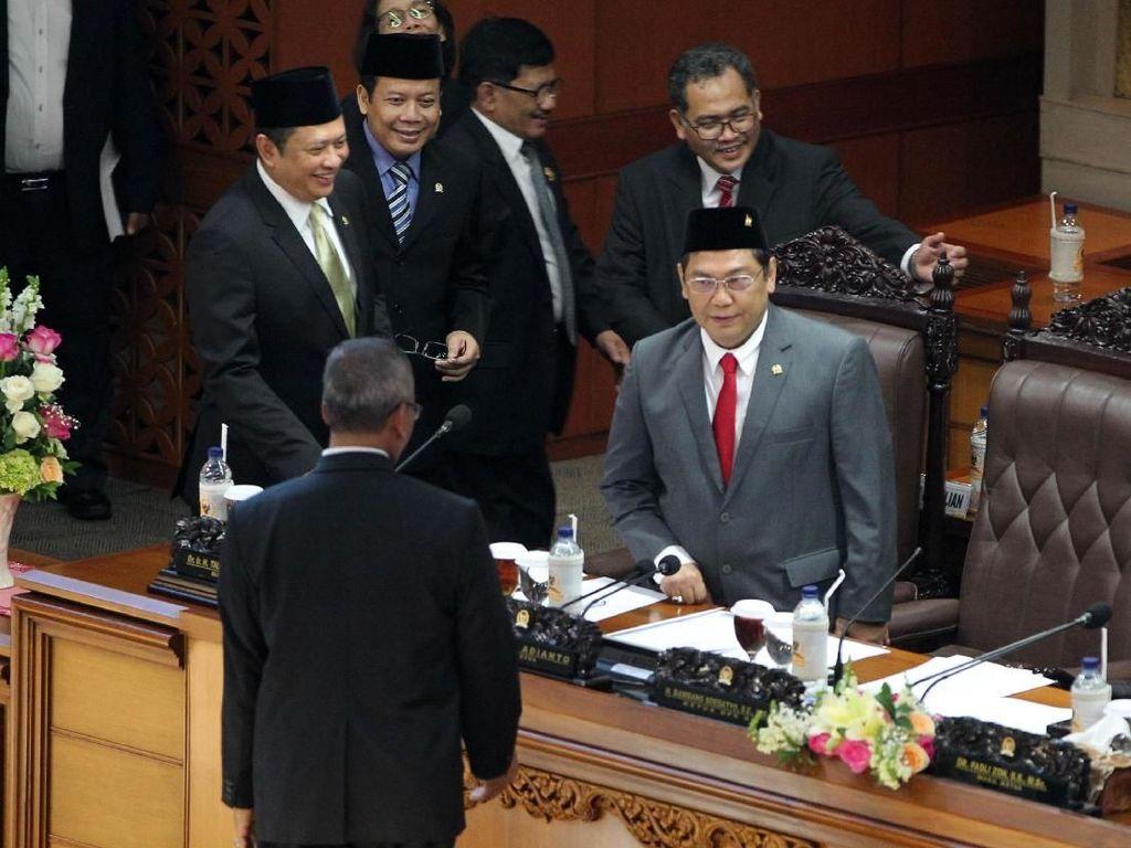 Utut Adianto resmi dilantik jadi Wakil Ketua DPR / Foto: (Lamhot Aritonang/detikcom)