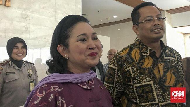 Mahyudin dan Titiek Tepis Berkonflik soal Jabatan di MPR