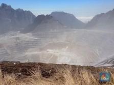 Ini Wujud Grasberg, Tambang Emas Terbesar di Dunia Milik RI