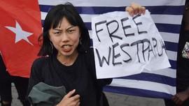 Demo Kelompok Separatis Papua Sambut Jokowi di Selandia Baru