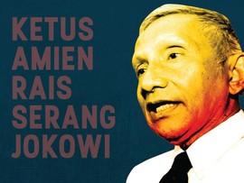 Ketus Amien Rais Cibir Jokowi