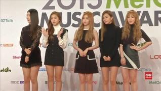 VIDEO: Korsel Kirim Girlband 'Red Velvet' ke Korut