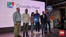Fitur Baru Google Maps Rilis Rute Khusus Motor hingga CFD
