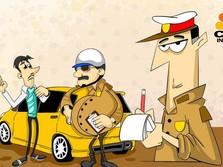 Sanksi Tilang Menanti Taksi Online