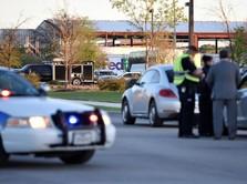 Paket Bom Meledak di Kawasan Fasilitas Jasa Pengiriman FedEx