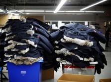 Barang Impor China Serbu RI, Paling Banyak Bawang dan Pakaian