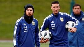 Messi Buka Peluang Tampil Hadapi Spanyol